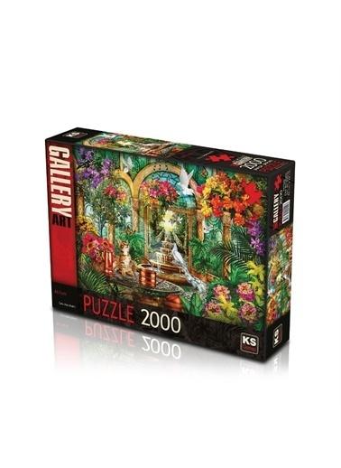 KS Puzzle KS Puzzle 22510 Avlu Atrium Temalı 2000 ParÇa Puzzle Renkli